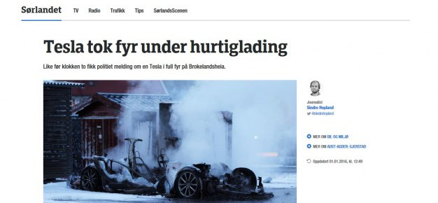 Tesla-fire-Norway-Supercharger-626x375