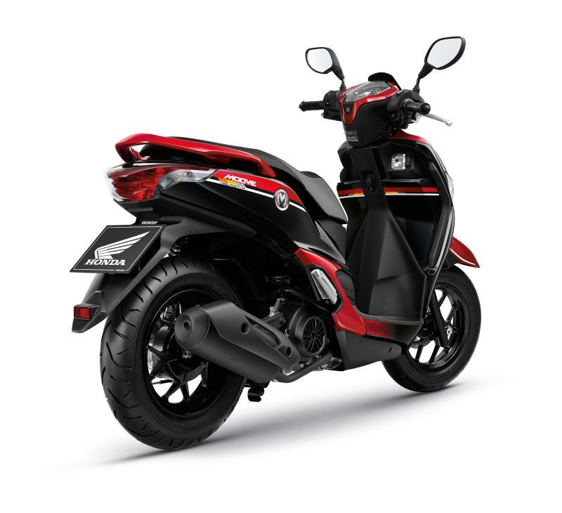 Honda Moove Color Chart Red Back