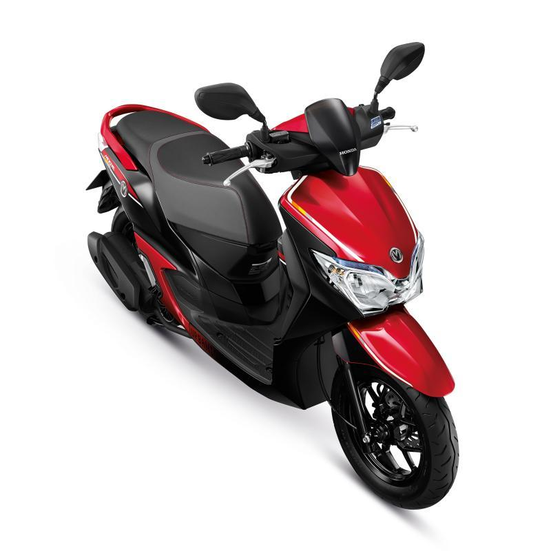 Honda Moove Color Chart Red