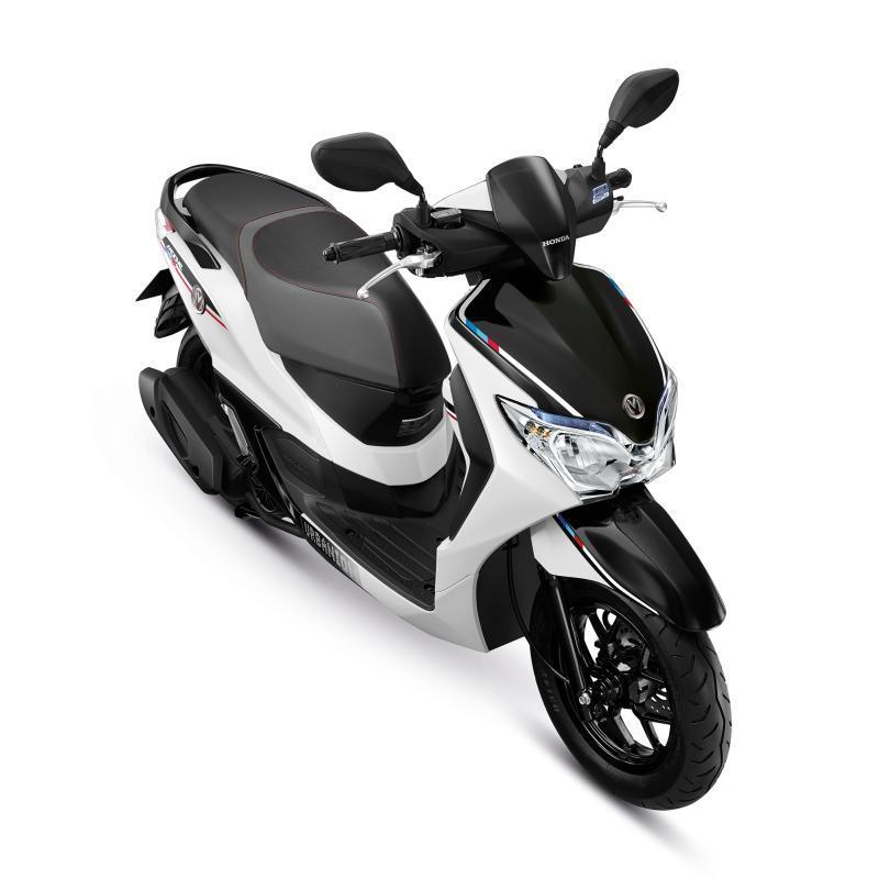 Honda Moove Color Chart White
