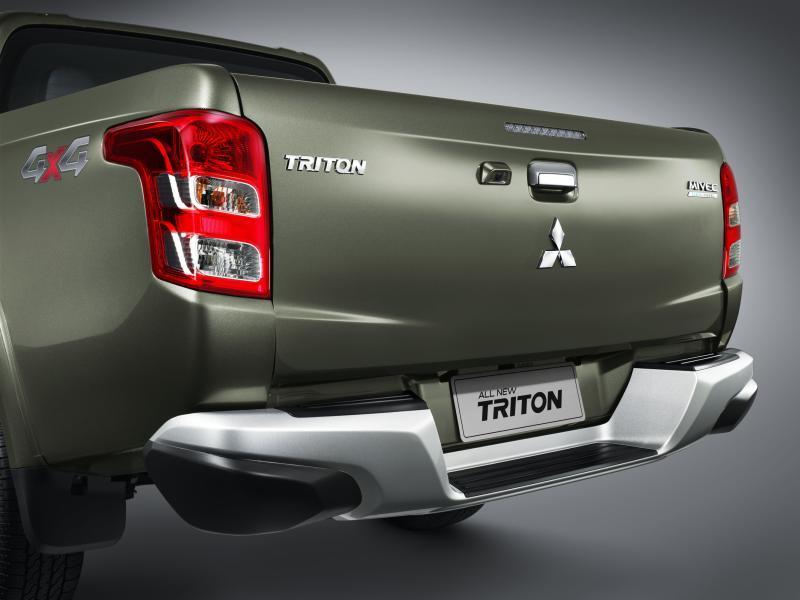 New Triton _Rear Bumper