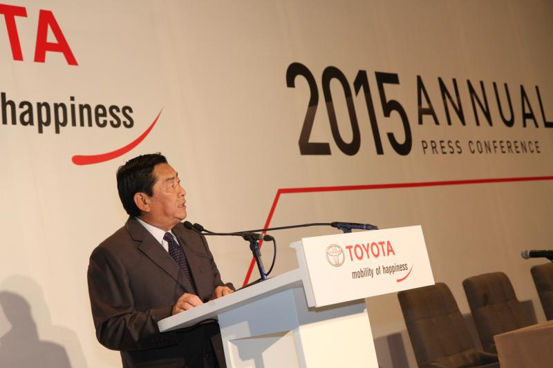 TOYOTA Annual Press Conference 2015_001