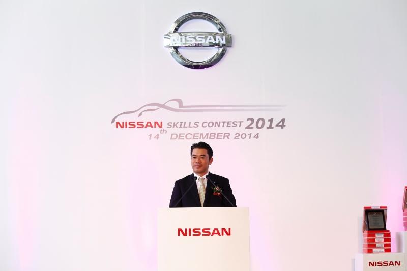 2.คุณฮิโรยูกิ โยชิโมโตะ ประธาน นิสสัน มอเตอร์ (ประเทศไทย) กล่าวเปิดงาน